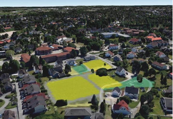 Gartneritomt blir boligområde på Leie i Fredrikstad.