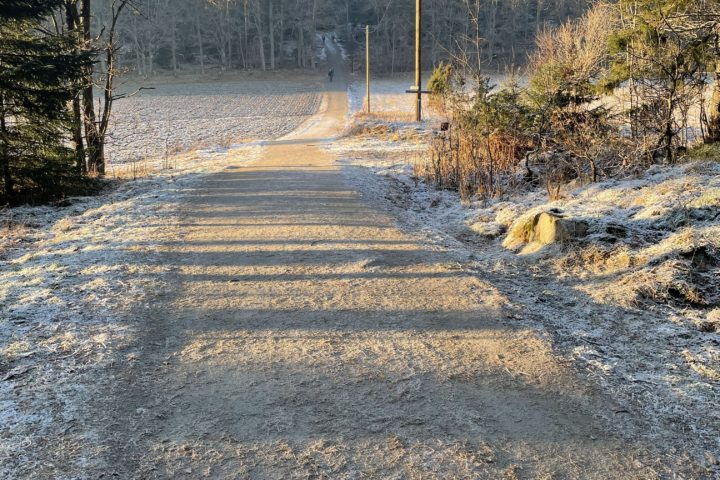 En kald vinterdag siste lørdagen i januar